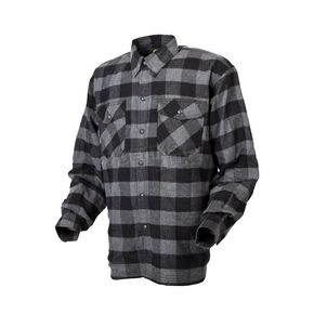Scorpion Black/Gray Covert flannel Shirt - 13403-9