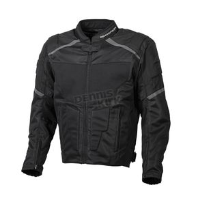 Scorpion Black Influx Jacket - 14301-4