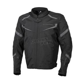 Scorpion Black Phalanx Jacket - 14401-4