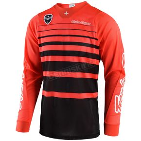 Troy Lee Designs Orange/Black SE Air Streamline Jersey - 302404725