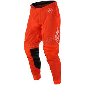 Troy Lee Designs Orange SE Air Solo Pants - 202487706