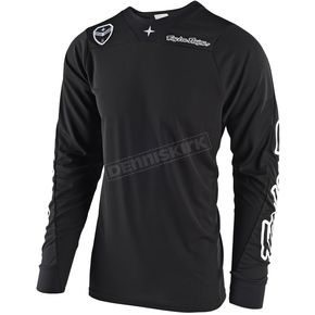 Troy Lee Designs Black SE Air Solo Jersey - 302487204