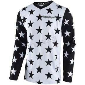 Troy Lee Designs White/Black GP Star Jersey - 307497122