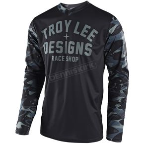 Troy Lee Designs Gray GP Cosmic Camo Jersey - 307012903