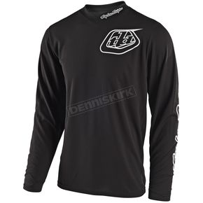 Troy Lee Designs Black GP Mono Jersey - 307487203