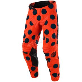 Troy Lee Designs Navy/Orange GP Air Polka Dot Pants - 204491732