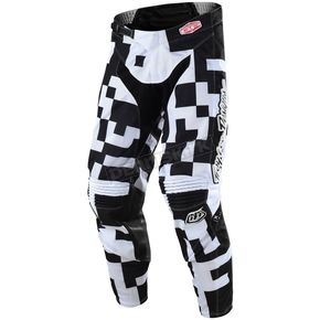 Troy Lee Designs Youth White/Black GP Air Maze Pants - 206492127