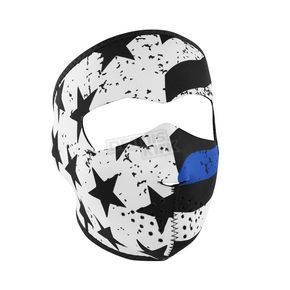 Zan Headgear Thin Blue Line Full Mask  - WNFM119