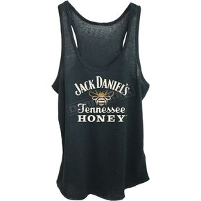 Jack Daniels Women's Black Honey Tank Top - 15361462JD-89-S