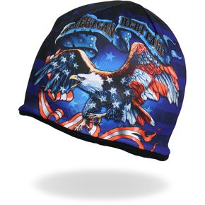 Hot Leathers American Heritage Beanie - KHC1019
