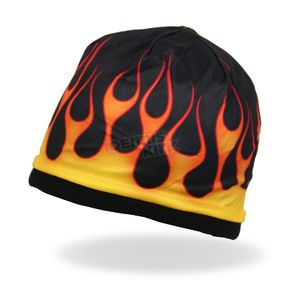 Hot Leathers Flames Beanie - KHC1023