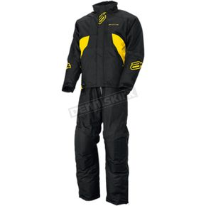 Arctiva Black/Yellow Pivot Insulated Jacket  - 3120-1768