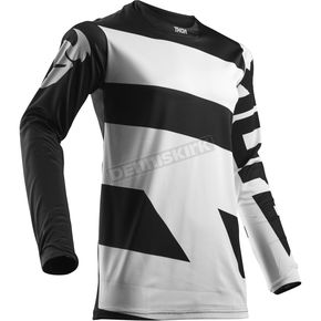 Thor White/Black Pulse Level Jersey - 2910-4368