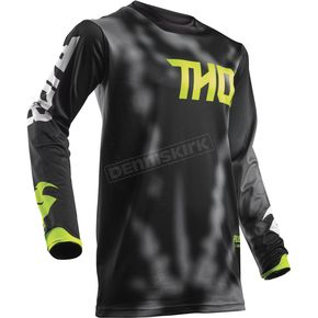 Thor Youth Black Pulse Air Radiate Jersey - 2912-1524