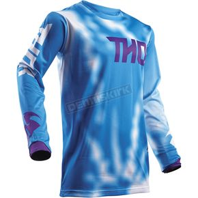 Thor Youth Blue Pulse Air Radiate Jersey - 2912-1535