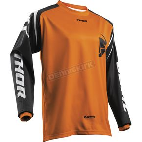Thor Youth Orange Sector Zones Jersey - 2912-1560