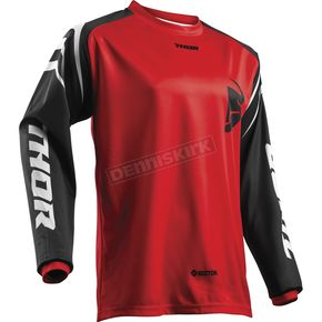 Thor Youth Red Sector Zones Jersey - 2912-1566