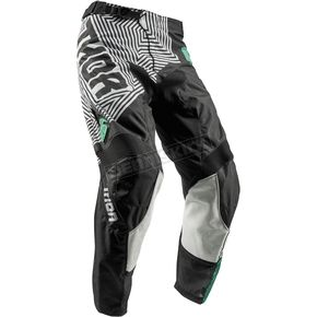 Thor Black/Teal Pulse Geotec Pants - 2901-6504