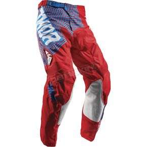 Thor Red/Blue Pulse Geotec Pants  - 2901-6513