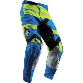Thor Youth Electric Blue/Lime Pulse Level Pants  - 2903-1531