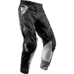 Thor Youth Black Pulse Air Radiate Pants - 2903-1561