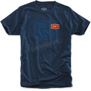 100% Heather Blue Youth Ride T-Shirt  - 34002-015-05