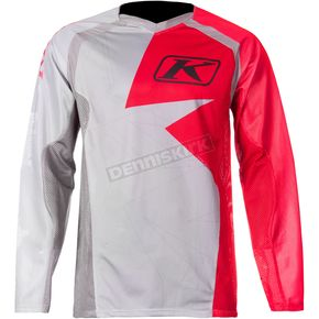 Klim Red/Gray Mojave Jersey - 3109-003-120-100