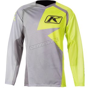 Klim Lime Green/Gray Mojave Jersey - 3109-003-130-300