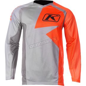 Klim Orange/Gray Mojave Jersey - 3109-003-160-400