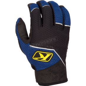 Klim Black/Blue Mojave Gloves - 3168-002-130-200