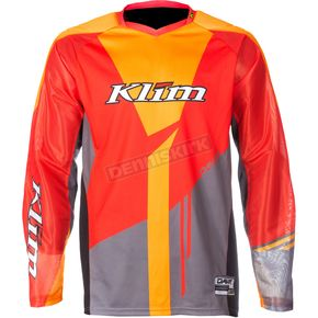 Klim Orange/Gray Dakar Jersey - 3315-005-160-400