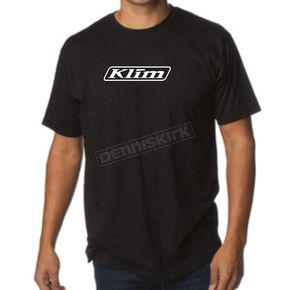 Klim Black Burst Technical Riding Gear T-Shirt - 3517-000-130-000