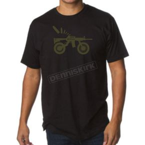 Klim Black AR Bike T-Shirt - 3724-000-170-000