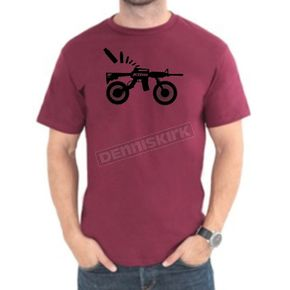 Klim Red AR Bike T-Shirt - 3724-000-150-100