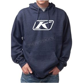 Klim Blue Icon Pullover Hoody - 3731-000-130-200