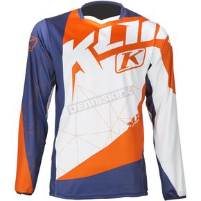 Klim Orange/Blue XC Jersey - 5003-001-120-400