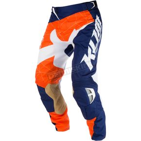 Klim Blue/Orange XC Pants - 5004-001-040-400