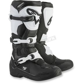 Alpinestars Black/White Tech 3 Boots - 2013018-12-15
