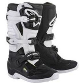 Alpinestars Stella Womens Black/White Tech 3 Boots - 2013218-12-8