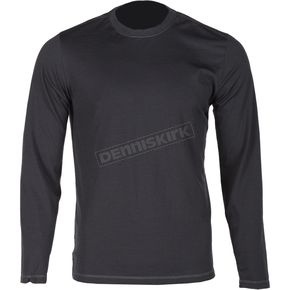 Klim Black Teton Merino Wool Base Layer Long Sleeve Shirt - 3712-000-120-000