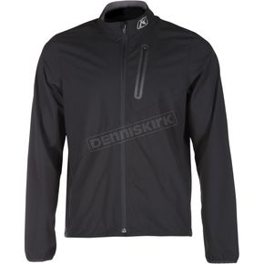 Klim Black Zephyr Wind Shirt/Jacket - 3715-000-140-000