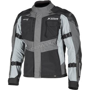 Klim Black/Gray Kodiak Touring Series Jacket - 3721-000-052-600