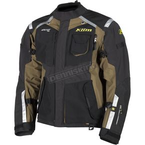 Klim Black/Green Badlands Jacket - 4052-001-130-300