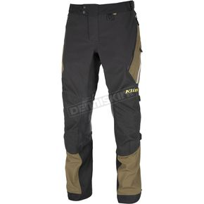 Klim Black/Green Badlands Pants - 4053-001-030-300