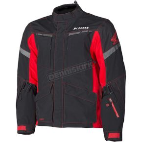 Klim Black/Red Honda Carlsbad Adventure Series Jacket - 6029-001-170-199
