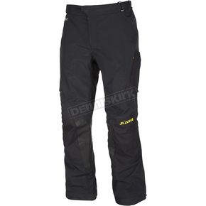 Klim Black Adventure Series Carlsbad Pants - 6030-001-234-000