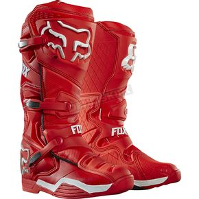 Fox Red Comp 8 RS Boots - 16451-003-13