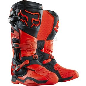 Fox Orange Comp 8 RS Boots - 16451-009-12