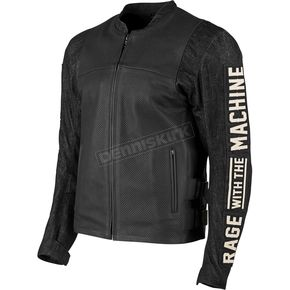 Speed and Strength Rage With The Machine Leather and Denim Jacket - 1101-0200-3055