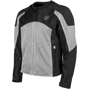 Speed and Strength Gray/Black Midnight Express Mesh Jacket - 1101-0201-2257